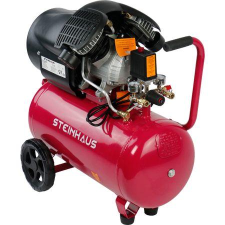 iara un compresor de aer cu 2 cilindrii foarte bun la pret, de la Steinhaus