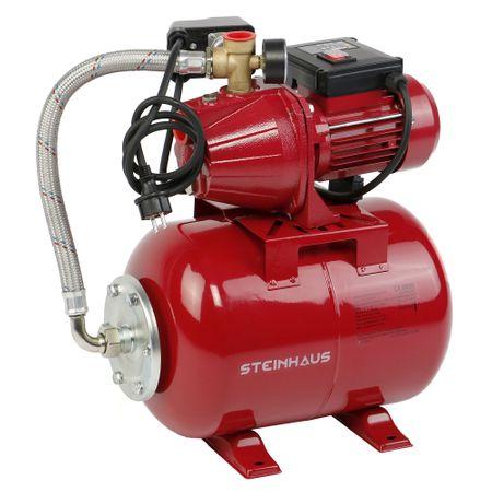 Hidrofor 24L Steinhaus PRO-BOO24 este un hidrofor bun care merita atentia ta