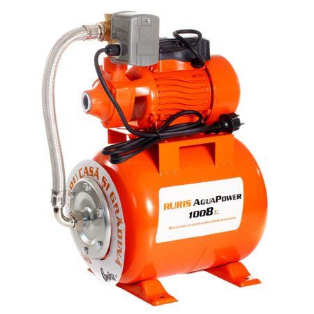 Hidrofor Ruris AquaPower 1008 este un produs ieftin si foarte bun
