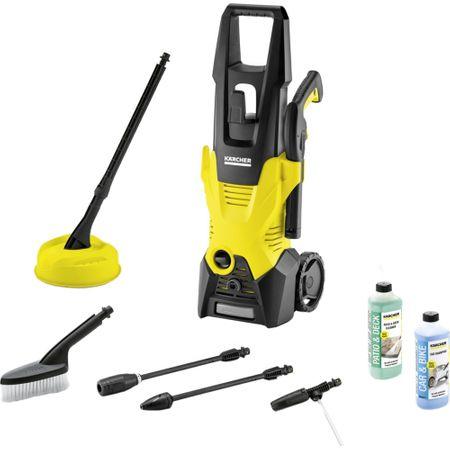 Karcher K 3 Car & Home T150 EU, 1600 W, 120 bar, 380 l/h + Detergent terase si curti + Detergent auto pareri