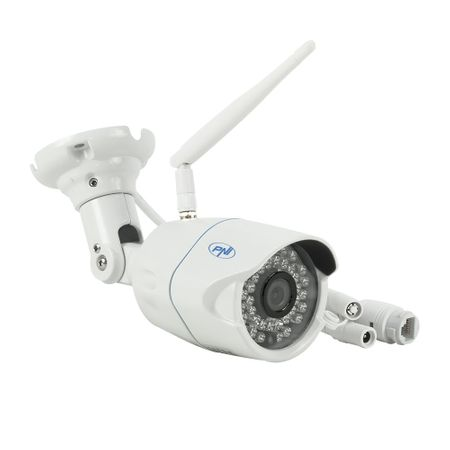 Camera de supraveghere video PNI House IP31 1MP 720P wireless cu IP de exterior si interior si slot microSD de calitate