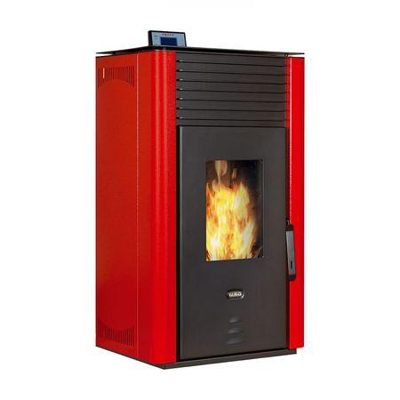 Termosemineu automatizat de incalzire centrala pe peleti Prity PLW11 13 kW la pret bun