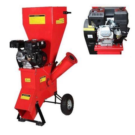 Tocator de crengi MF pe benzina OHV 6.5CP 4 timpi , Model 2019, Diametru taiere lemn 766 mm, Micul Fermier ieftin