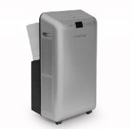 Aparat de aer conditionat portabil TROTEC PAC 3550 pro, capacitate 12000 BTU, debit 380mc/ora, telecomanda, display, pentru 45mp la pret decent