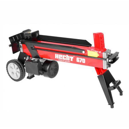 Despicator electric de busteni / lemne HECHT 670, monofazat, 2000W, presiune 7t la pret bun