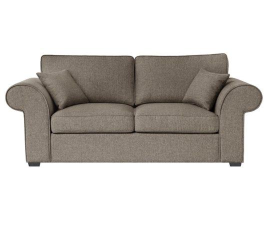 Canapea extensibila 2 locuri Ivy Hazelnut cu raport calitate/pret foarte bun
