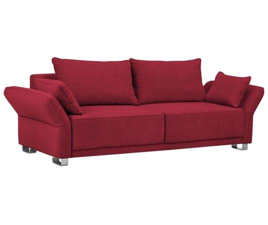 Canapea extensibila 3 locuri Casiopeia Red cu pret imbatabil!