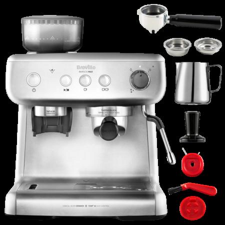 Espressor de cafea boabe manual Barista Max Breville la pret bun