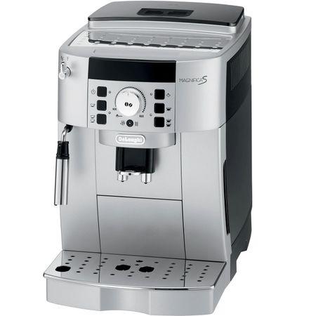 Espressor de cafea boabe automat De'Longhi, ECAM 22.110 SB, 145 0W, 15 bar, 1.8 L, Negru Argintiu de calitate