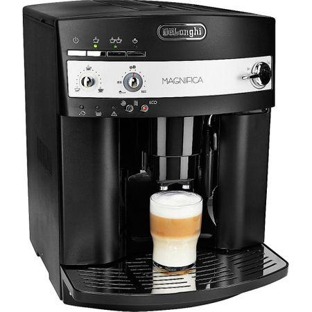 Espressor de cafea boabe automat De'Longhi Magnifica ESAM3000B, 1450W, 15 bar, 1.8 l, Negru la pret bun