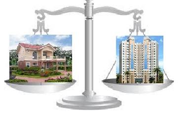 locuit la casa sau la apartament. tu ce preferi?