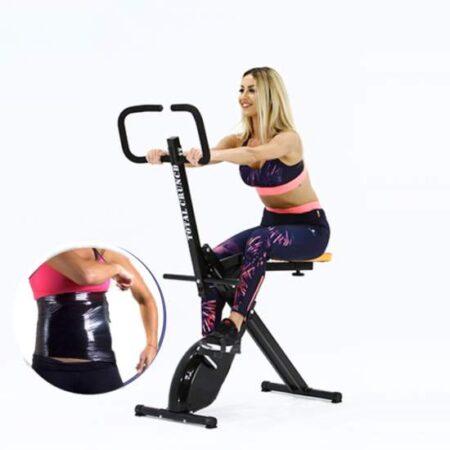 Slabeste rapid si eficient cu aparatul de fitness Total Crunch Evolution!