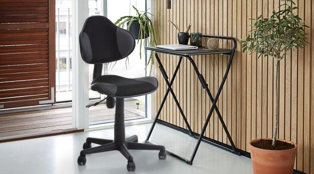 Alege un birou pliabil perfect pentru casa.