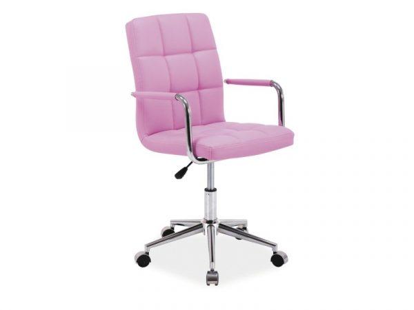 Foloseste doar scaune de birou roz rezistente si sigure.