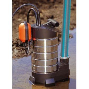 Asigura apa curenta menajera oriunde cu o pompa submersibila pentru apa murdara.