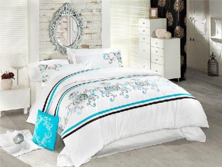 Bucura-te de o lenjerie de pat din bumbac satinat ieftina si de calitate.