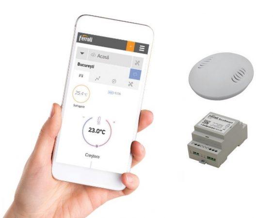 Opteaza pentru un termostat centrala fara fir la pret bun si de calitate.
