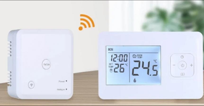 Bucura-te de un termostat centrala fara fir ideal pentru casa ta.