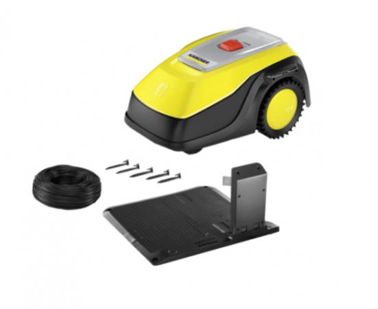 Foloseste un aparat special conceput pentru a nivela iarba, pus la dispozitie de eMag.