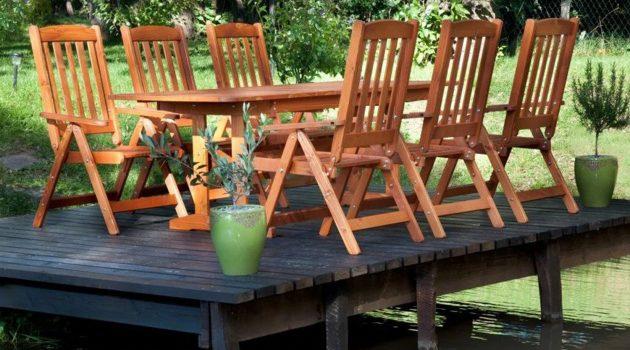 Transforma exteriorul casei tale, folosind cel mai bun set masa si scaune pentru gradina.