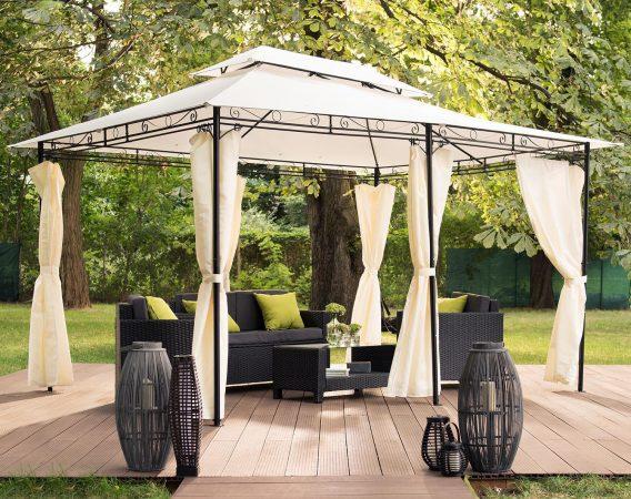 Integreaza cel mai bun pavilion pentru gradina pe care sa il folosesti in fiecare zi, in cel mai frumos mod posibil.